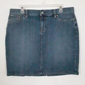 Old navy Jean skirt